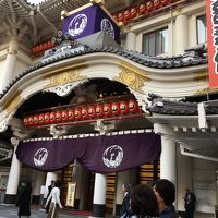 東京:銀ブラ〜歌舞伎座
