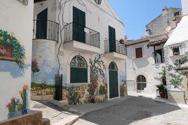 美しき南イタリア旅行♪ Vol.675(第22日)☆美しきローディ・ガルガーニコ旧市街:華やいだ壁画いっぱい♪