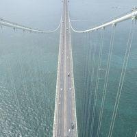 明石海峡大橋289M地点に立つ!ブリッジワールドツアー