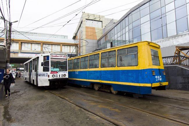 【ロシア】廃線間近?今後が怪しいウラジオストク市電とケーブルカー