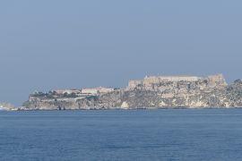 美しき南イタリア旅行♪ Vol.689(第23日)☆憧れのトレミティ諸島へ 白い町並みペスキチやサン・ニコラ島のアンジュー城を眺めて♪