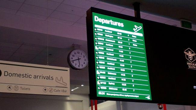 クイーンズタウン空港を早朝出発してオークランド経由で同じ日に日本へと帰国することができるNZ航空便のクイーンズタウン空港でのチャックインを実際体験してきました。