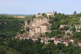南仏の美しい村とラヴェンダー畑を巡る旅(3)断崖の聖地《ロカマドゥール》☆Rocamadour