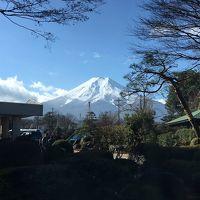 富士山を見に、河口湖方面へ♪