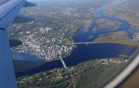 2018.9フィンランド職員旅行10終-Ritsilampiによる,天気のいい中RVNへ,Rovaniemi教会,帰国