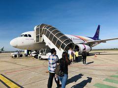 タイスマイル航空でバンコクへ