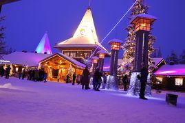 12月のフィンランドとサンタクロース村
