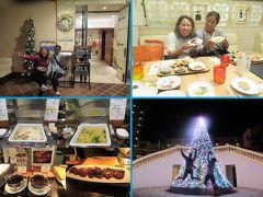 冬でも暖かい沖縄へ(25)アリビラ・ハナハナで楽しくワールドグルメブッフェのあとは美しいイルミネーションでクリスマス気分