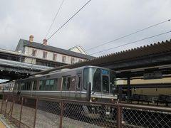 冬の近江・美濃(9)新快速電車に乗って北陸本線長浜駅へ:プチ乗り鉄の旅