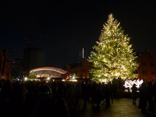 横浜 赤レンガ 倉庫 クリスマス
