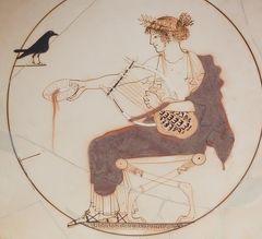 2018.8ギリシアザキントス島,ペロポネソス半島ドライブ旅行40-デルフィ博物館2 青銅の御者の像などの至宝 アテナの聖域