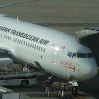 ボーイング737-800に乗りました。JTA NGO-OKA 47便。搭乗者名のないチケットでした。