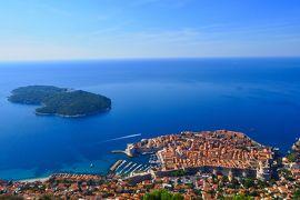 夏のクロアチア!5泊8日縦断の旅【7・8日目・紺碧のアドリア海に浮かぶ ドブロブニク〜帰国】