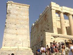 東地中海クルーズ  アテネ~ローマへ (2)-2 アクロポリス・パルテノン神殿