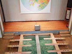 草津温泉-6 熱乃湯 幕あけ:Movie&草津節の踊りで ☆開場一番を待って二階中央席へ