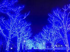 2018年イルミネーションの第6段は☆☆渋谷公園通りから代々木公園まで青色に輝く「青の洞窟 SHIBUYA」☆☆です !!O(*^-^*)O