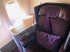 タイ国際航空ビジネスクラスでバンコクへ