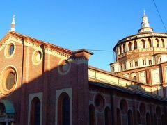 クリスマスシーズンに訪れる ミラノ美術散策の旅(07) サンタ・マリア・デッレ・グラツィエ教会。