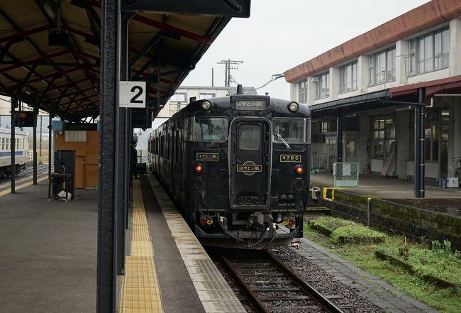 フォートラの同年代オフ会。<br />東京で集まっても物足りないメンバー達は、<br />今回は鹿児島で集まることになった。<br /><br />オフ会翌日は、夕方のフライトで帰ります。<br />それまでは鹿児島をぶらぶら。<br />でも天気はあいにくの雨。<br />そこで列車を楽しむことにした。<br /><br />◯12月13日 仕事終わりに出発<br />◯12月14日 鹿児島でオフ会<br />●12月15日 鹿児島ぶらぶら