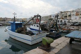 美しき南イタリア旅行♪ Vol.731(第24日)☆Trani:美しきトラーニ漁港 水揚げされた新鮮魚介♪