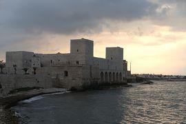 美しき南イタリア旅行♪ Vol.735(第24日)☆黄昏のトラーニ城 フェデリコ時代の面影♪