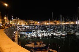 美しき南イタリア旅行♪ Vol.755(第25日)☆Trani:夜景の美しいトラーニ漁港♪