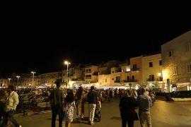 美しき南イタリア旅行♪ Vol.756(第25日)☆Trani:夜景の美しいトラーニ漁港 バーで食後酒♪