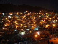 1泊2日弾丸釜山☆甘川文化村は夜景もきれいだった・クリスマスイルミネーション