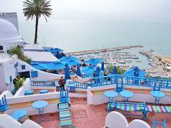 142. C'mon Baby! Africa!! チュニジアの旅 Day4 Part1 白と青のSidi Bou Said & 一瞬Carthage