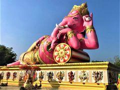 今年は家族と一緒に訪バンコク~~♪♪   (1・2日目午前編:Wat Pho Bang Khla~Wat Saman~百年市場)