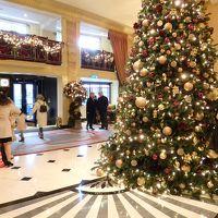 ロンドンで5っ星ホテルの飾りを見物 パークレーンとピカデリー周辺のクリスマスデコレーション