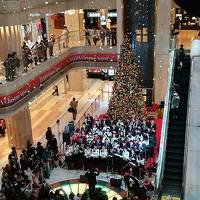 出張からのクリスマスで盛り上がる東京を散策