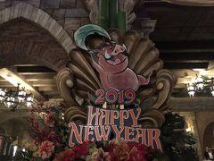 【東京ディズニー】2019/1新年初Disneyに行ってみるさー。