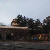 福山城外周・駅周辺早朝散歩