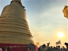 今年は家族と一緒に訪バンコク〜〜♪♪      (3日目:Yaowarat〜Phu Khao Thong(Wat Sraket)〜Khlong Saen Seap〜Big C)