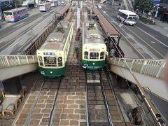 九州縦断旅(31)長崎の路面電車(長崎電気軌道)