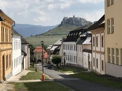 ポーランドとスロバキアの13日間の旅⑮ 国境越えてスピシュ城とりまく小さな町へ