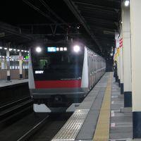 24の列車でつなぐ1都6県大回り(海浜幕張→検見川浜)