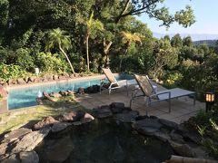 超❣贅沢・・・プライベート温泉水プール&露天風呂付きのお部屋で、リラックスしまくり❣の旅@鹿児島 指宿