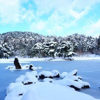 雪の東北ひとり旅 その1(平泉編)