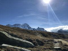 スイス旅行記 ~3日目ツェルマット ゴルナーグラートでハイキング~