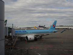 コリアンエア A220-300(Bombardier CS300) 成田~釜山搭乗記