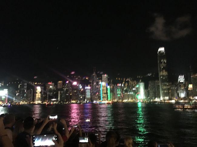 飛行機が香港経由だったのでついでに1泊。<br />香港は初めての海外旅行一人旅の場所だったし、10年前のインド一人旅の経由でも寄った思い出深い場所。<br />ミャンマーと比べて街の発展度にも観光客の多さにも物価の高さにも驚かされた。