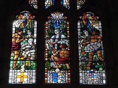2016年9月【2】再訪!ANAビジネスクラスで行く2度目のシドニー旅行(旅の目的その1・セントアンドリュース大聖堂のアボリジニの人々が描かれたステンドグラスをじっくり見る!)