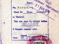 今回、VISAに関して考え直させられました。入国の可否は、入国審査官の判断となります。