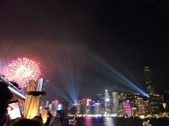 カウントダウン香港