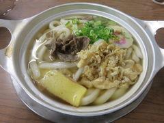 新年の四国(2)伊予鉄路面電車で松山ソウルフード・鍋焼きうどん「ことり」へ