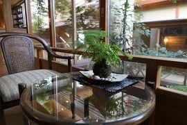 別所温泉の松茸旅行♪ Vol.2 「北向観音隣の宿かしわや本店」露天風呂付き高級部屋♪