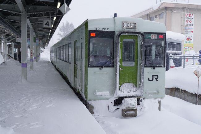 年末寒波の中、冬の日本海側を北上。2日目 新潟で右折して山形へ。