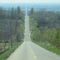 北海道・惜別北斗星の旅(6)知床斜里天に続く道からオホーツク海の見えるローカル線で網走へ